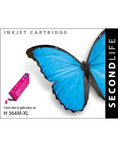 SecondLife - HP 364 XL Magenta