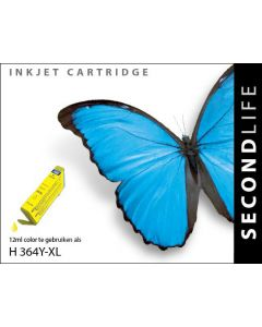 SecondLife - HP 364 XL Yellow
