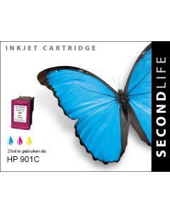 SecondLife - HP 901 XL Color