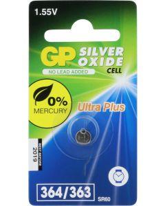 GP Horlogebatterij 364 (SR621SW) Low drain, blister 1