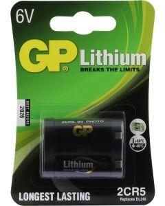 GP Photo Lithium 2CR5 (DL245), blister 1