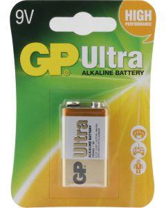GP Ultra Alkaline 9V blok, blister 1