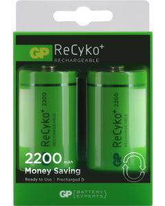 GP NiMH ReCyko+ D 2200 blister 2