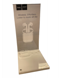 Hoco AirPods Promo Display - exclusief demo AirPods