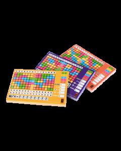 3x Scoreblokken voor Keer op Keer level 2, 3 en 4
