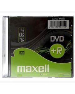 Maxell DVD+R - 5 pack 10mm - 16X - 4.7GB