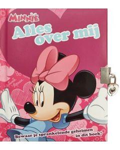 Disney Minnie Mouse boek vol geheimen. Dagboekje, 48 pagina's