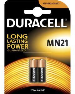 Duracell Alkaline rondcel MN21, blister 2