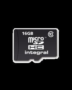 16GB Integral MicroSDHC card - class 10 (90MB/s)