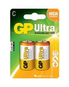 GP Alkaline Ultra C Baby, Kleine staaf, Blister 2