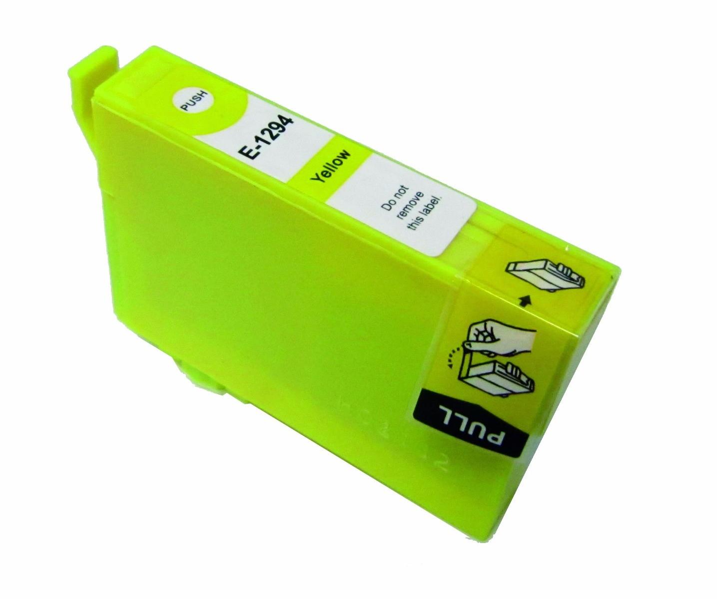 Huismerk Epson T 1294 geel