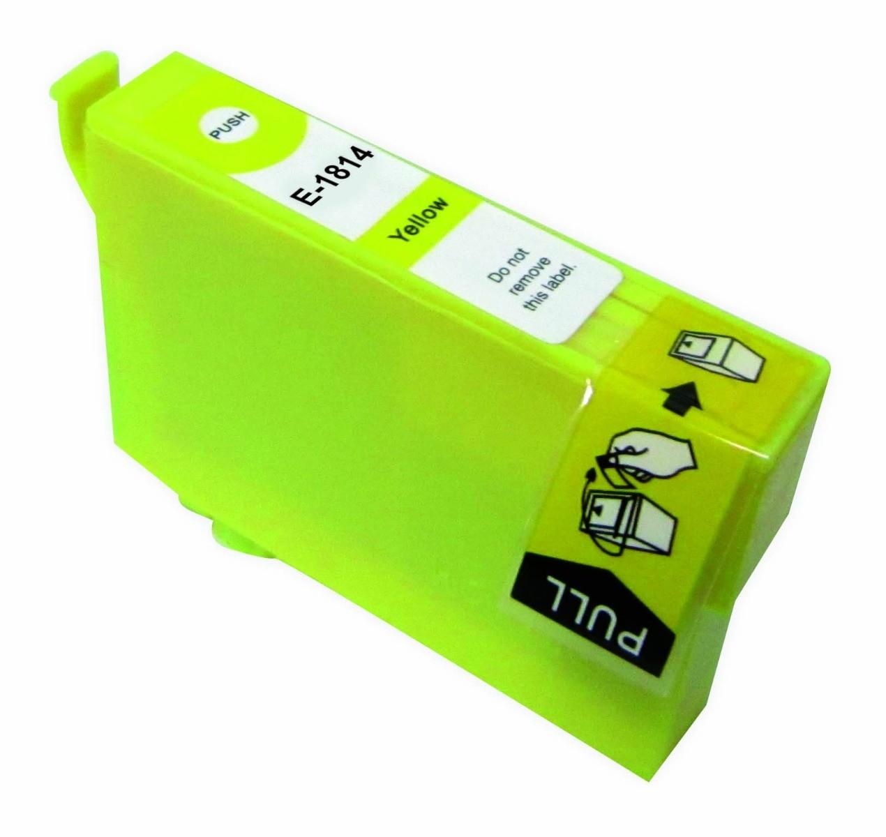 Huismerk Epson 18 XL geel (T1814)
