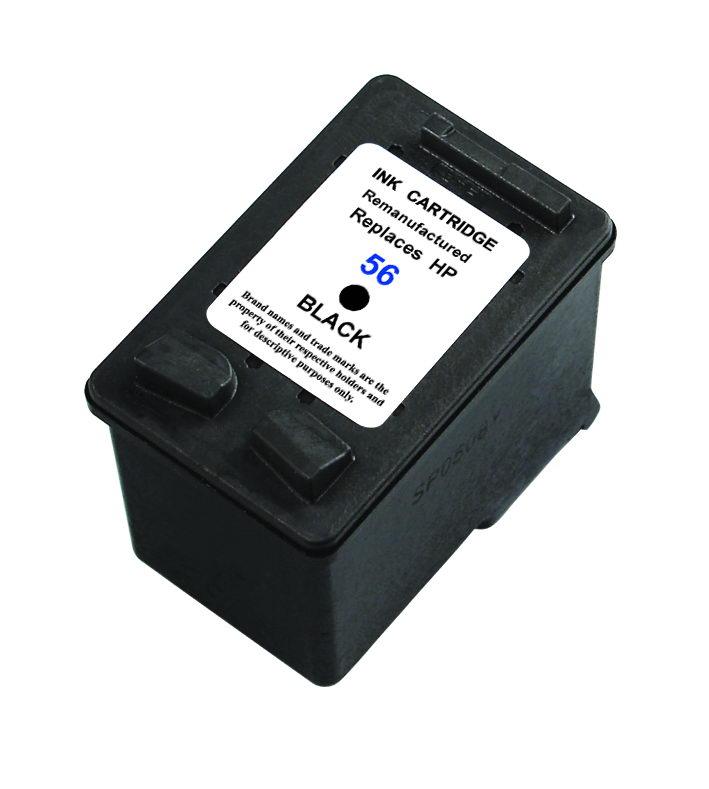 Huismerk HP 56 XL zwart