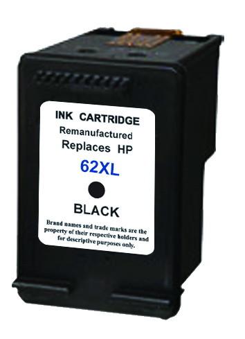 Huismerk HP 62 XL zwart