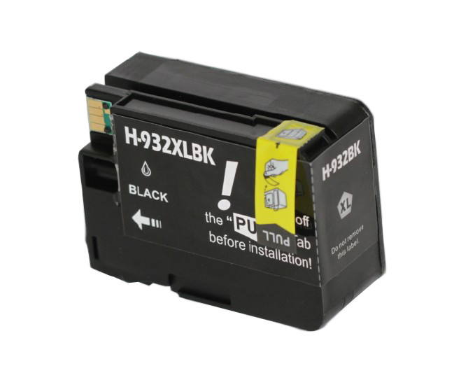 Huismerk HP 932 XL zwart