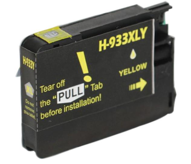 Huismerk HP 933 XL geel