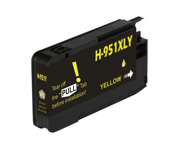 Huismerk HP 951 XL geel